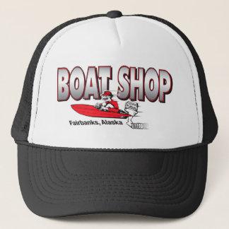 OLD BOAT SHOP LOGO MERCH TRUCKER HAT