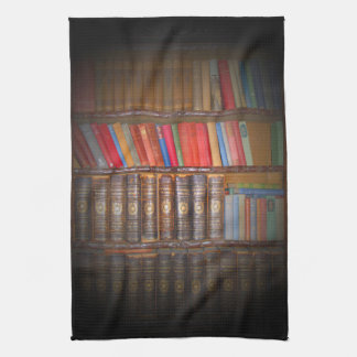 Old Books Kitchen Towel