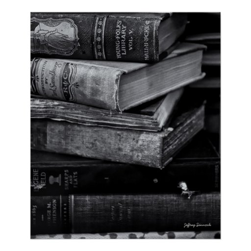 Old Books Posters