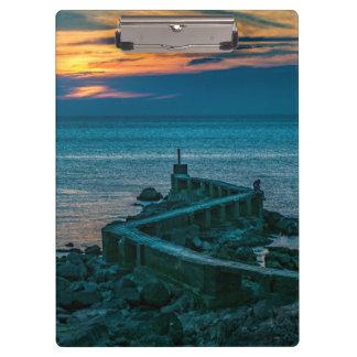 Old Breakwater, Montevideo, Uruguay Clipboard