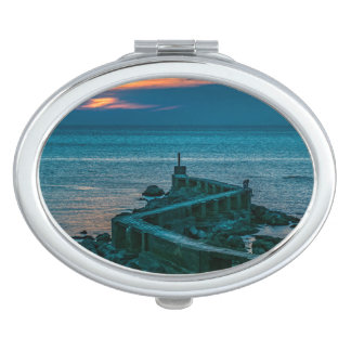 Old Breakwater, Montevideo, Uruguay Compact Mirrors