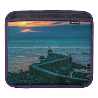 Old Breakwater, Montevideo, Uruguay iPad Sleeve
