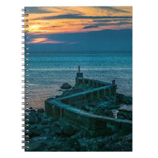 Old Breakwater, Montevideo, Uruguay Notebook