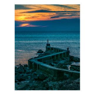 Old Breakwater, Montevideo, Uruguay Postcard