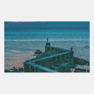 Old Breakwater, Montevideo, Uruguay Sticker