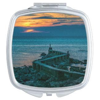 Old Breakwater, Montevideo, Uruguay Travel Mirror
