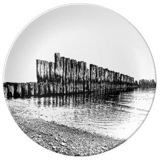 old breakwater plate
