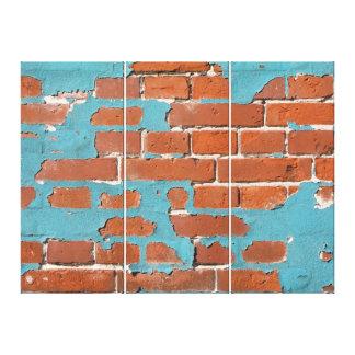 Old Brick Gallery Wrap Canvas