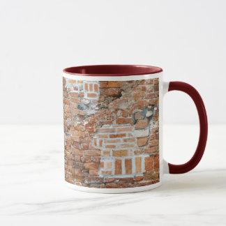 Old Brick Wall Mug