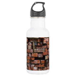 Old Bricks Abstract 532 Ml Water Bottle