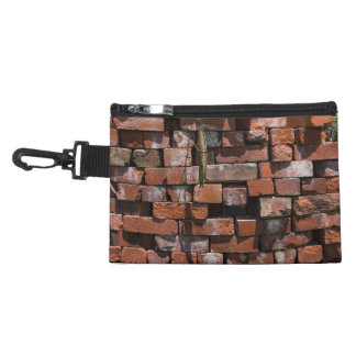 Old Bricks Abstract Accessory Bag