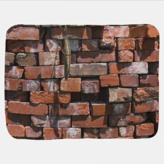 Old Bricks Abstract Baby Blanket