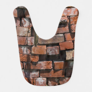 Old Bricks Abstract Bib