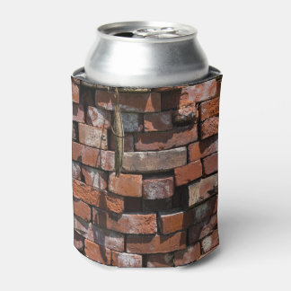 Old Bricks Abstract Can Cooler