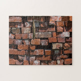 Old Bricks Abstract Jigsaw Puzzle