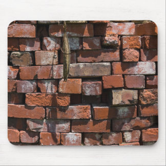 Old Bricks Abstract Mouse Pad