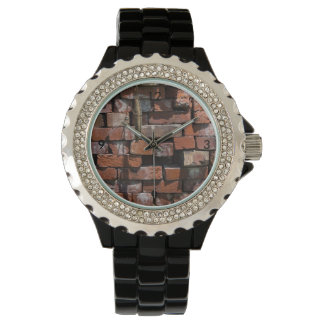 Old Bricks Abstract Watch