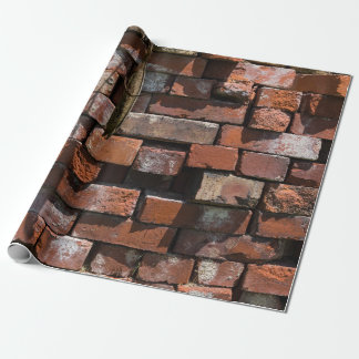 Old Bricks Abstract Wrapping Paper