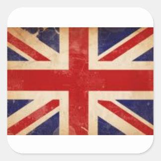 Old British Flag Sticker