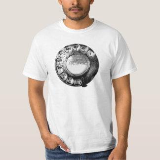 Old British Telephone Dial design Shirts