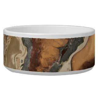 Old Brown Marble texture Liquid paint art