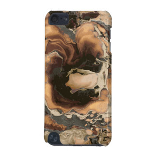 Old Brown Marble texture Liquid paint art iPod Touch 5G Case
