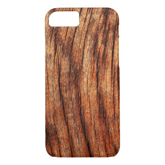 OLD BROWN WEATHERED WOOD iPhone 7 CASE