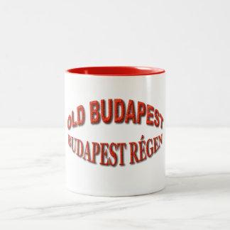 Old Budapest Two-Tone Coffee Mug