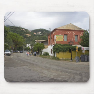 Old Building On The Crossroads In Ipsos On Corfu I Mouse Pad