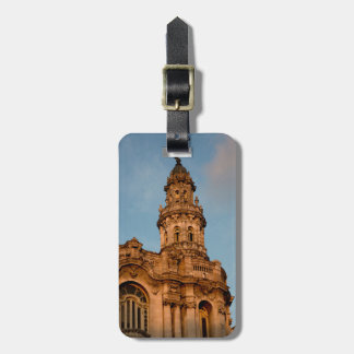 Old building Spire, Havana, Cuba Bag Tag