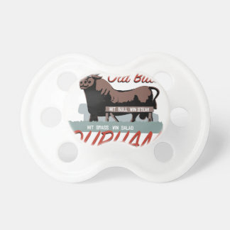 Old Bull Durham Baby Pacifier