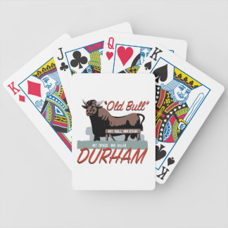 Old Bull Durham Bicycle Playing Cards