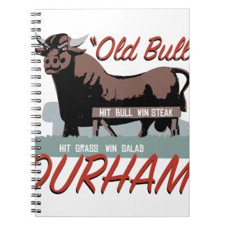 Old Bull Durham Notebook