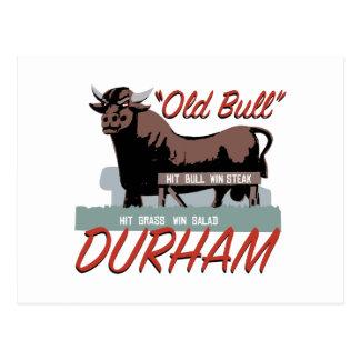 Old Bull Durham Postcard