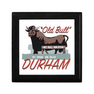 Old Bull Durham Trinket Box