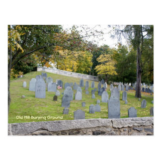 Old Burying Ground Postcard