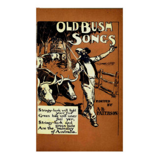 Old Bush Songs Poster