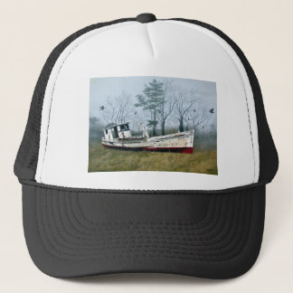 Old Buy Boat Trucker Hat