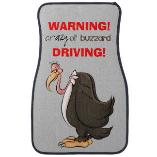 Old Buzzard fun car mats Floor Mat