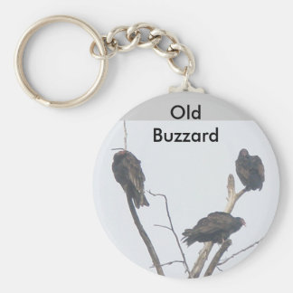 Old Buzzard Keychain