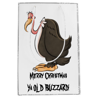 Old Buzzard medium gift bag