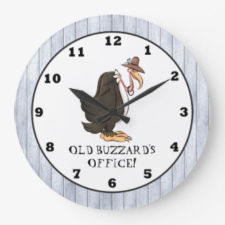Old Buzzard's Office wall clock