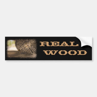 Old Cabin Wood Textures Bumper Stickers