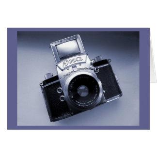 Old Camera (1957 Mk IV Ihagee Exa 0) Card