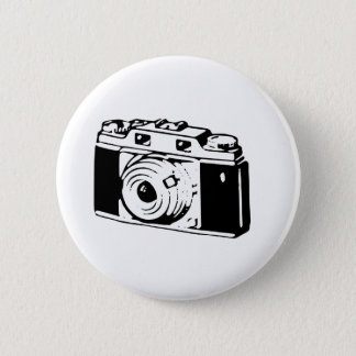 Old Camera 2 Inch Round Button