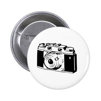Old Camera 2 Inch Round Button