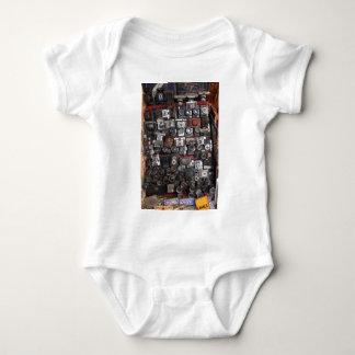 Old cameras baby bodysuit