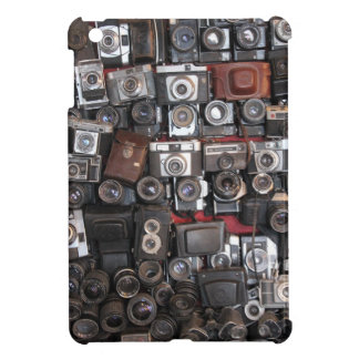 Old cameras cover for the iPad mini