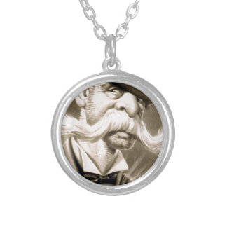 Old Captain Silver Plated Necklace
