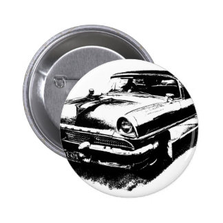 Old car cars rare vintage mustang 2 inch round button